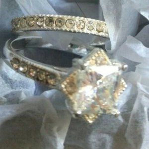 This is Love CZ engagement Set by Avon